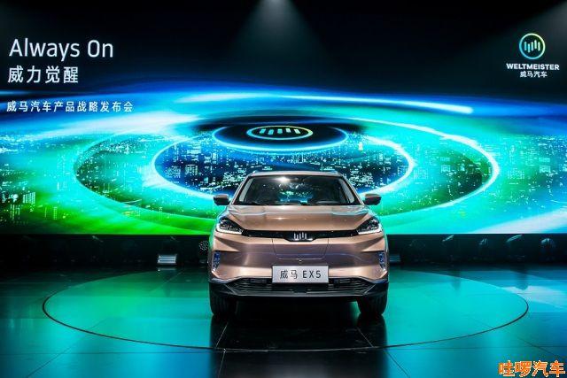 威马汽车EX5补贴后价格多少,威马EX5汽车正式入市