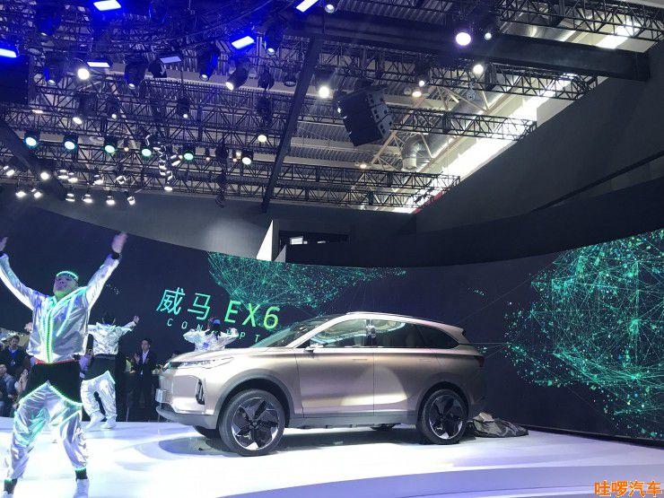 北京车展 2018威马汽车发布第二款车型EX6 Concept